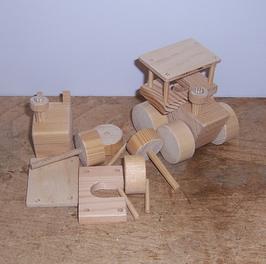 Bausatz Traktor