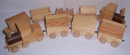 Zug, mehr als zwei Waggons