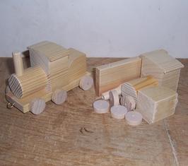 Bausatz Lok lang