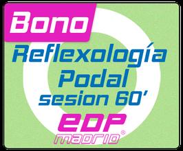 Reflexología podal- Sesión 60'
