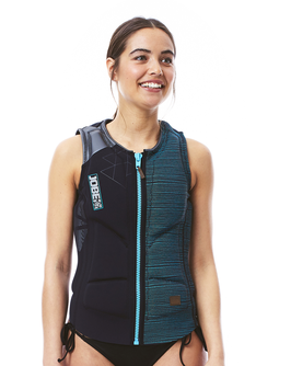 Comp Vest Women Zipper Black