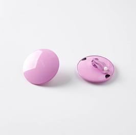 Ohrring/Clip rosa 35mm