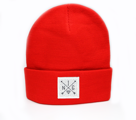 Beanie Red Dots