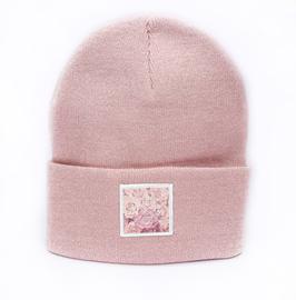 Beanie Pink Flower