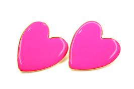 Ohrring buntes Herz
