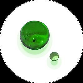Glaskugel grün energetisierend