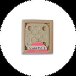 EM Keramik Spacemate klein beige (4.2 x 4.2cm)