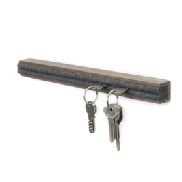 Schlüsselbrett Nussbaum geölt 55 cm