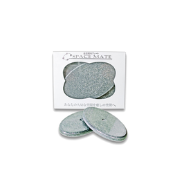 EM Keramik Spacemate gross grau (10 x 6cm / 2 Stk)