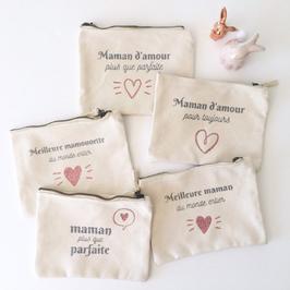 Pochettes personnalisées - Maman