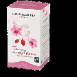 Organic Fairtrade Hagebutte & Hibiskus Tee