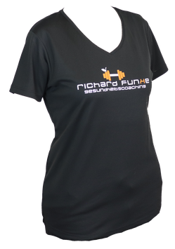 "T-Shirt ""Training"" Richard Funke mit Wunschlogo"
