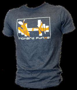 "T-Shirt ""AllDayLong"" Richard Funke mit Wunschlogo"