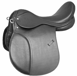 Selle anglaise type Haflinger, Merens
