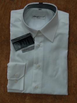 Ahlemeyer | Langarm Business-Hemd | Slimline | ohne Tasche