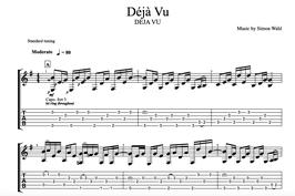"""""""Déjà Vu"""" Noten (+TABs)"""