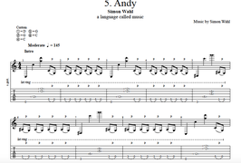 """Andy"" Noten (+TABs)"