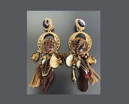 Boucles d'oreilles Ginah