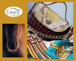 Mini Bag Equines cuir