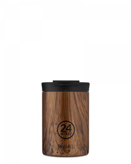 24 BOTTLES TRAVEL TUMBLER SEQUOIA WOOD