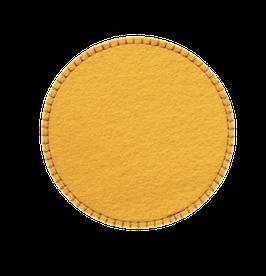 Untersetzer gelb