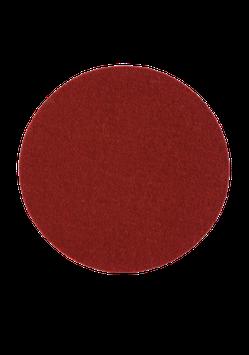 Tischset rund rubinrot