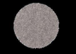 Tischset rund steingrau