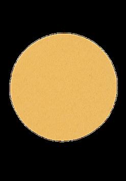Tischset rund gelb