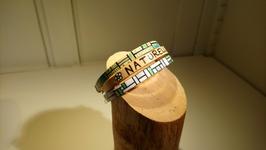 "Bracelet 3 cuir ""Naturelle"""