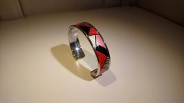 Bracelet métal rouge