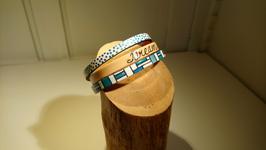 "Bracelet 3 cuir ""Dream"""