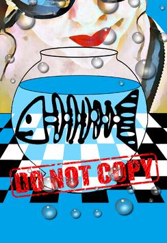 keuze uit 6 kleurrijke art posters uit de serie DO NOT COPY