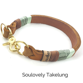 Lederhalsband Soulovely Takelung
