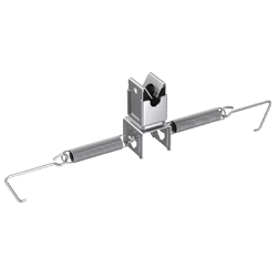 P111 177 Dachleitungshalter V2A rostfrei, Ø 8 mm/                                                                      Typ B