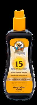 SPF 15 Spray Öl mit Karottenöl 237ml