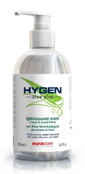 HYGEN - aloe plus - 500 ml Hand-Desinfektion