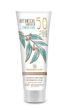 Botanical Sunscreen Tinted Face SPF 50 Mineral Lotion 88ml MEDIUM