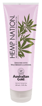 Hemp Nation Wild Berries & Lavender Body Scrub 235 ml