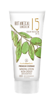 Botanical Sunscreen SPF 15 Mineral Lotion 147ml
