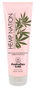 Hemp Nation White Peach & Hibiscus Body Wash 235 ml