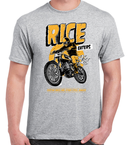 T-shirt Rice Eaters Grey
