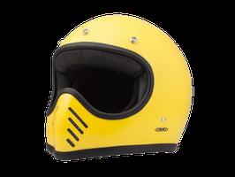 SEVENTY FIVE casco vintage, DMD Giallo