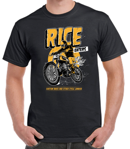 T-shirt Rice Eaters Black