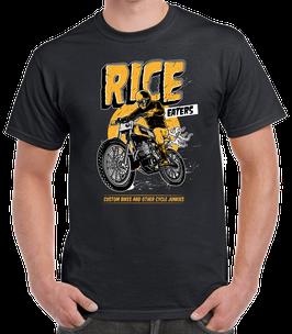 T-shirt Rice Eaters Black
