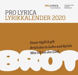 Lyrikkalender 2020