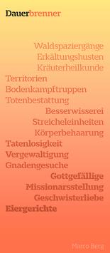 Marco Berg ‹Dauerbrenner›