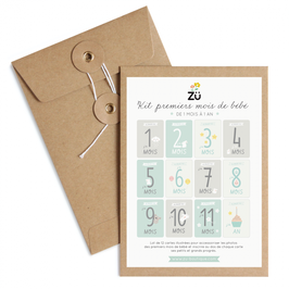 Kit Premiers mois de bébé (Zü)