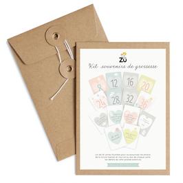 Kit Souvenirs de grossesse (Zü)