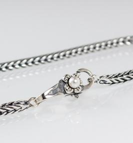 Ref.: 00232 Pulsera en plata925 y perlas naturales