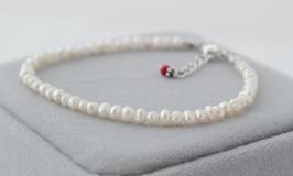 Ref.: 00157 Pulsera de perlas naturales de 3 mm